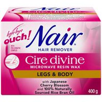 Nair™ Cire Divine Microwave Resin Wax Legs and Body Hair Remover