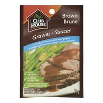 Club House Brown 25% Less Salt Gravy Mix