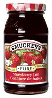 Smucker's Pure Seedless Strawberry Jam