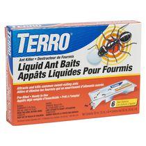TERRO 6-Pack Liquid Ant Baits