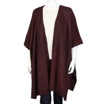 George Women's Knit Cardigan Cape Burgundy S/P