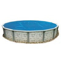 Blue Wave Round 8-mil Solar Blanket for Above Ground Pools 12