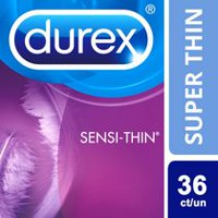 Durex Sensi-Thin Ultra Fine Lubricated Condoms Value Pack