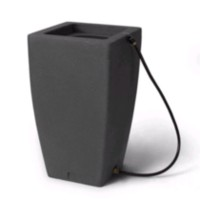 Algreen Madison Charcoalstone Rain Barrel