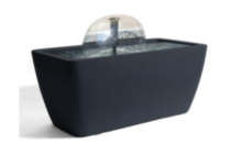 Algreen Manhattan Grey Pond Kit with Lighting