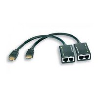 Techly HDMI Cat5e/Cat6 Extender - 30m