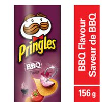 Pringles BBQ Flavour Potato Chips 156 g
