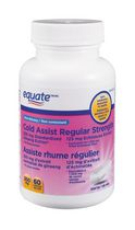 Equate Non-drowsy Cold Assist Regular Strength