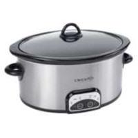Faitout ovale programmable Crock-Pot 4 Ptes, Cuisson lente