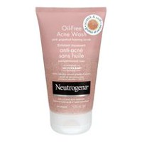 Neutrogena® Oil-Free Acne Wash Pink Grapefruit Foaming Scrub, 125 Ml