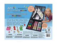 Art 101 Draw, Paint and Create Tri-Fold Art Set