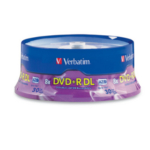 Verbatim 30pk DVD+R Double Layer