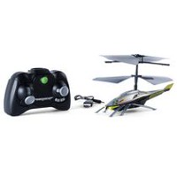 Air Hogs - Axis 200, High Performance 2 Channel RC Helicopter with Gyro – Silver & Green