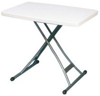 Table presonnelle ajustable 20 po x 30 po