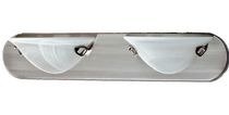 Albright 2-Light Satin Chrome Vanity