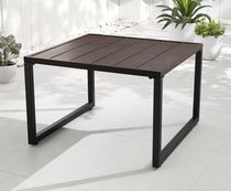 hometrends Large Steel Coffee Table Outdoor