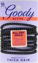 Goody Stayput Secure Fit Elastics - Black