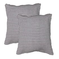Houndstooth Cushion Set of 2