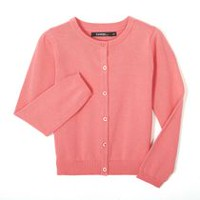 George Girls' Knit Cardigan Pink S/P