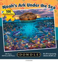 Americana Art Noah's Ark Under the Sea Jigsaw Puzzle