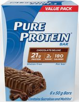 Pure Protein Gluten Free Chocolate Deluxe Bars Value Pack