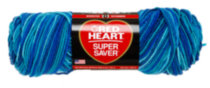 Red Heart Supersaver Multi Ditsy Floral AOP