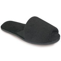 Tender Tootsies Women's Katie Slippers Black