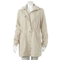 George Women's Hooded Jacket Beige S