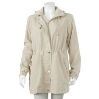 George Plus Women's Hooded Jacket Beige 2XL