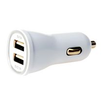 Techly 2 Port 2.1A USB Car Charger