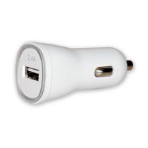Techly 1 Port 2.4A USB Car Charger
