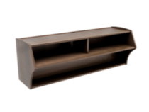 Altus Wall Mounted Audio/Video Console Brown