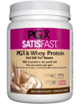 Webber Naturals® PGX® Satisfast Rich Chocolate PGX® & Whey Protein
