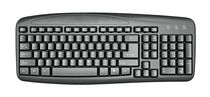 ONN Wired Keyboard - Black