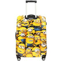 "Universal Studios 20"" Minions 4 Wheel Spinner Hard Case Rolling Luggage"