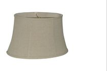 Home Trends 16'' Linen Oval Lamp Shade