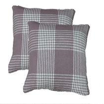 Plaid Cushion Set of 2