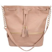 Nicci Women's Drawstring Bag Cream