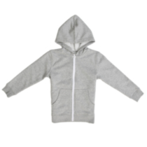 Athletic Works Boy's Hoodie Grey S/P