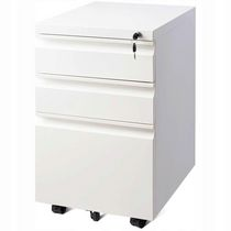 TygerClaw 3-Drawer Wheeled Mobile File Cabinet with Lock