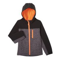 Athletic Works Boys' Bonded Jacket Black XS