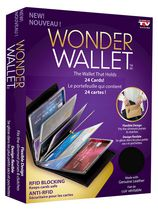 Wonder Wallet RFID Blocking Wallet