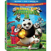 Kung Fu Panda 3 (Awesome Edition) (Blu-ray + DVD + Digital HD) (Bilingual)