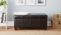 Home Trends Storage Bench - Brown