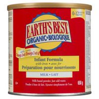 Earth's Best Organic Infant Formula - Milk