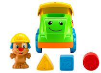 Fisher-Price Laugh & Learn Puppy's Fill 'n Spill Truck - English Edition