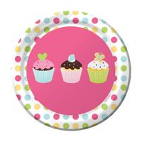 Creative Converting Party Sweet Treats Lunch Plate