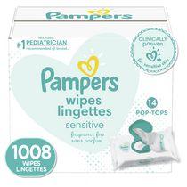 Lingettes pour bébés Pampers Sensitive, 14X boîtes distributrices