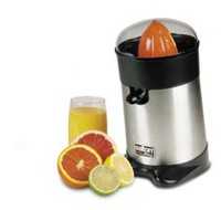 Salton Stainless Steel Citrus Juicer - CJ1484