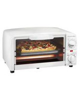 PS 4 Slice Toaster Oven White